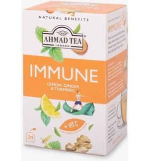 Ahmad Tea Natural Benefits Immunity 6/20 pcs