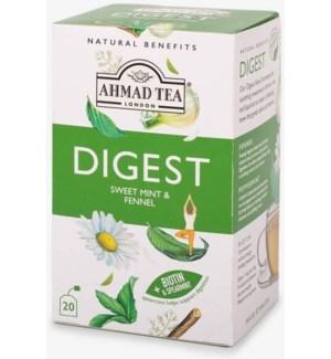 Ahmad Tea Natural Benefits Digest 6/20 pcs