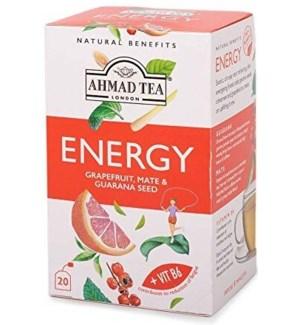 Ahmad Tea Natural Benefits Energy 6/20 pcs