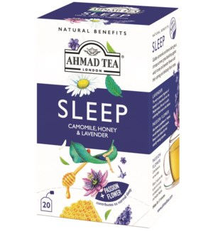 Ahmad Tea Natural Benefits Sleep 6/20 pcs