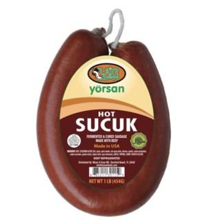 Yorsan Hot Sucuk 12/1 lb