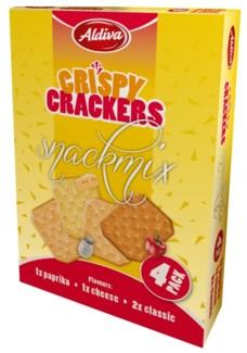 Aldiva Snack Cracker 24/(4x75) gr
