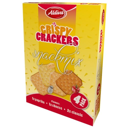 Aldiva Snack Cracker 24/(4x75) gr