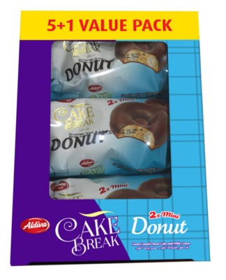 Aldiva Donut Cake w/Milk 6x(24x40gr)