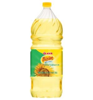 Ulker Bizim Sunflower Oil 9/2 lt