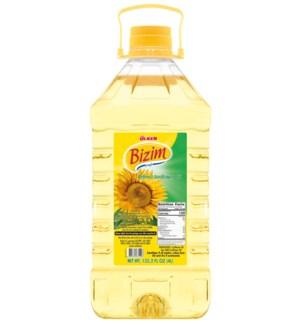 Ulker Bizim Sunflower Oil 4/4 lt