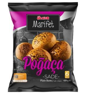 Ulker Marifet Plain Pogaca (Buns) 16/6 pk