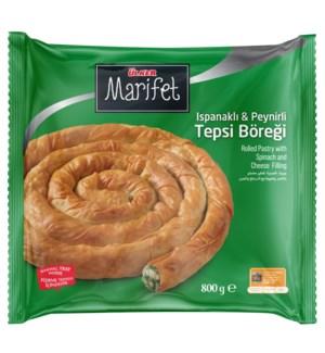 Ulker Marifet Tepsi Pastry w/Spinach 12/800 gr