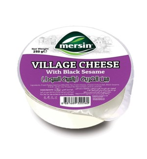 Mersin Village Cheese (Black Sesame) 18/250 gr