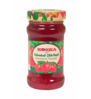 Koska Strawberry Preserves 12/380 gr