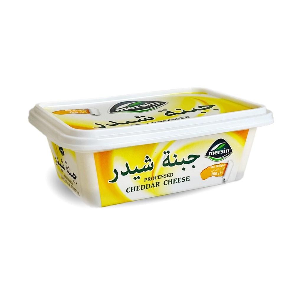 Mersin Cheddar Cream Cheese Spread 18/180 gr