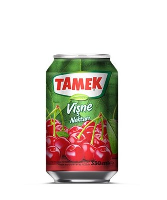 Tamek Sour Cherry Juice (can) 24/330 ml