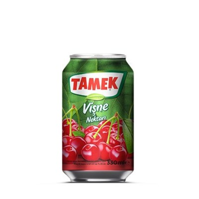 Tamek Sour Cherry Juice (can) 24/330 ml