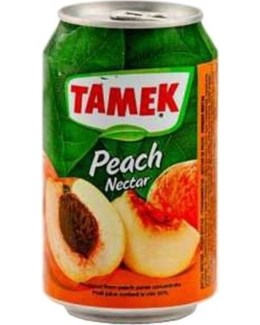 Tamek Peach Juice (can) 24/330 ml