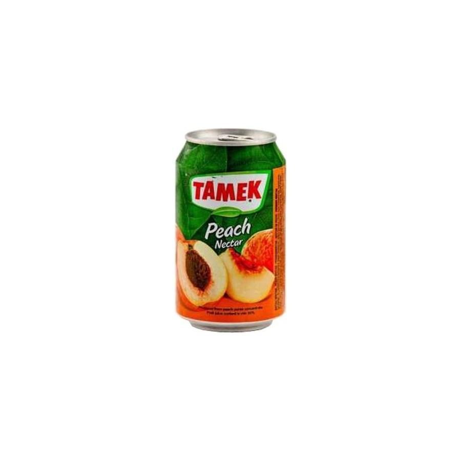 Tamek Peach Juice (can) 24/330 ml
