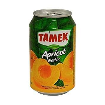 Tamek Apricot Juice (can) 24/330 ml
