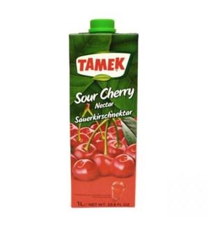 Tamek Sour Cherry Juice (Tetra) 12/1 lt