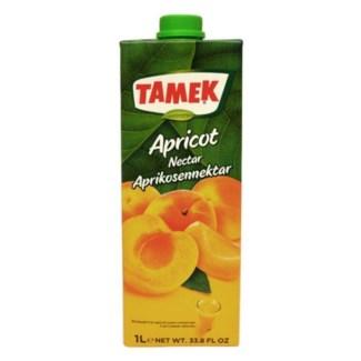Tamek Apricot Juice (Tetra) 12/1 lt