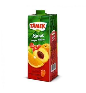 Tamek Mix Fruit Juice 12/1 lt