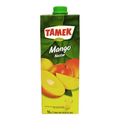 Tamek Mango Juice (Tetra) 12/1 lt