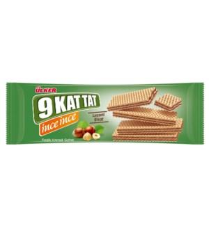 Ulker 9 Kat Wafer w/Hazelnut (16x114gr)