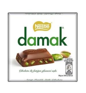 Ulker Damak Milk Chocolate w/pist 6/63 gr