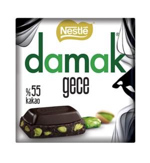 Damak Kare Gece Dark Chocolate w/pist 6/63 gr