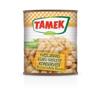 Tamek Boiled White Beans (can) 12/800 gr
