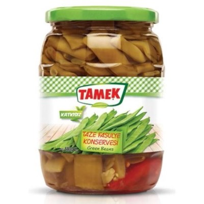 Tamek Green Beans 12/720 ml