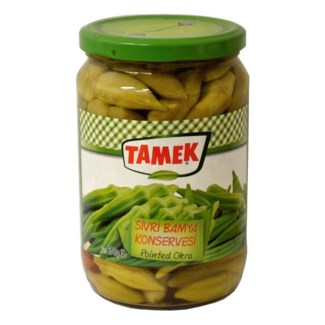 Tamek Okra Pointed (glass) 12/720 ml