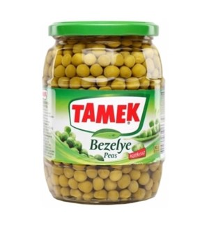 Tamek Green Peas Boiled 12/720 ml