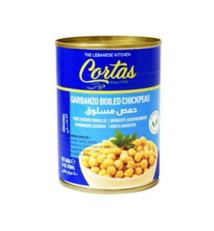 Cortas Chickpeas Canned 24/14 oz