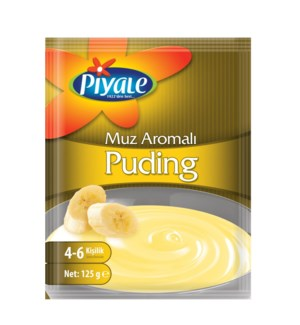 Piyale Pudding Banana 115gr (12ea/box)