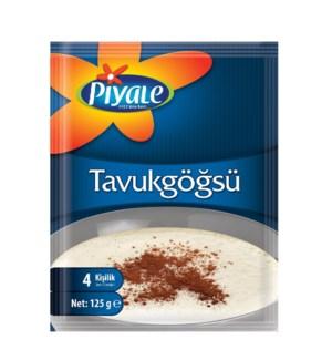 Piyale Pudding Tavuk Gogsu 125gr (12ea/2box)
