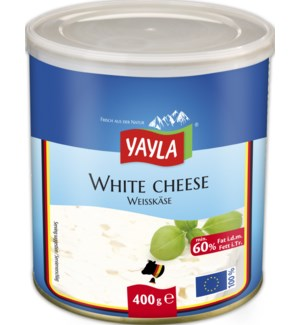 Yayla White Cheese (60%) 6/400 gr
