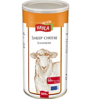 Yayla Sheep Cheese (50%) 6/800 gr