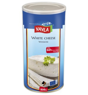 Yayla White Cheese (60%) 6/800 gr