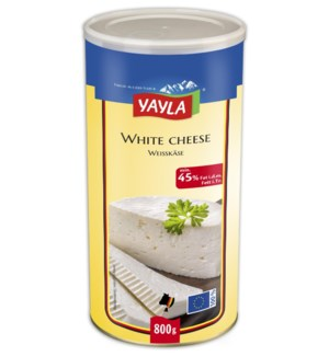Yayla White Cheese (45%) 6/800 gr