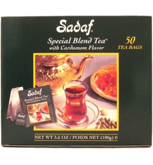 Special Blend Tea W/Card 50 bags