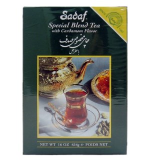 Special Blend Tea Cardamon 16 oz
