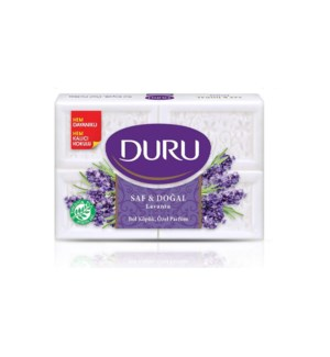 Duru Pure & Natural Lavender Soap 15/(4x150gr)