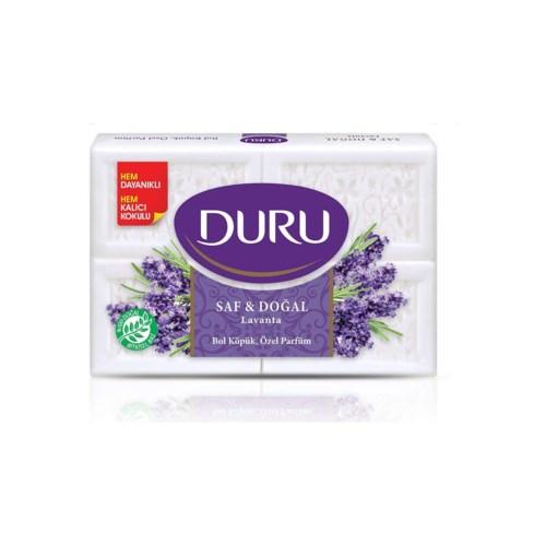 Duru Pure & Natural Lavender Soap 15/(4x150gr)