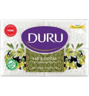 Duru Pure & Natural Olive Oil Soap 15/(4x150gr)