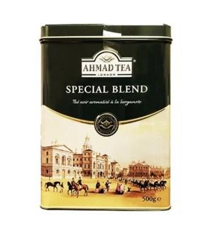 Ahmad Ceylon Early Grey Special Blend Tin 12/500 gr