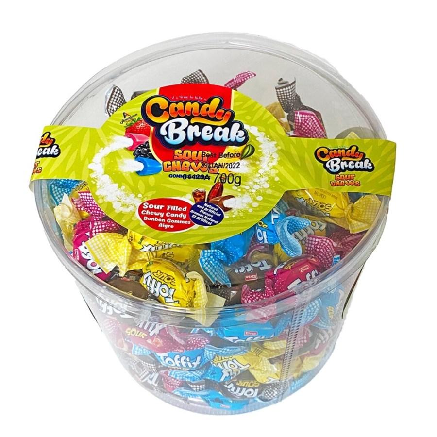Candy Break SOUR Toffix 6/700gr