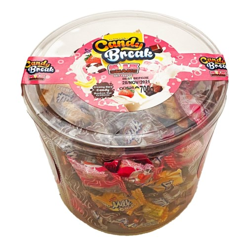 Candy Break Milkshake Candy 6/700 gr
