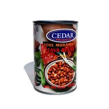 Cedar Fava Beans Foul Moudammas 24/15 oz