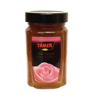 Tamek Rose Jam (glass) 12/380 gr