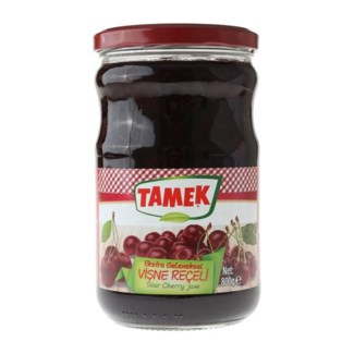 Tamek Sour Cherry Jam (glass) 6/800 gr
