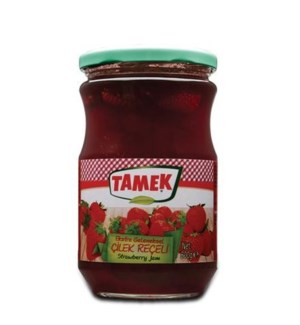 Tamek Strawberry Jam (glass) 6/800 gr